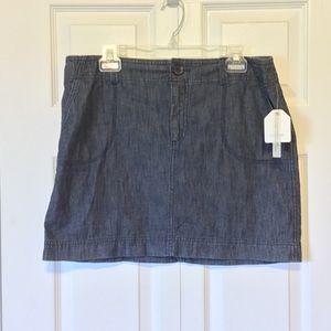 Soft Denim Skirt Size 12 Caslon NWT